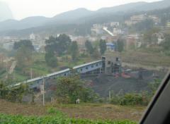 贵州习水县一煤矿粉尘污染严重