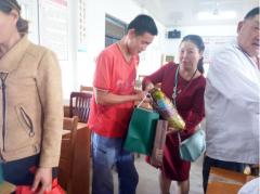 芜湖爱心天使协会两节慰问残疾人