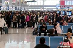"""中国出现""""反向春运"""" 一线城市成热门目的地"""