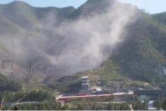 河北承德县:矿山公司破坏山体污染环境