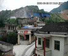 湖南新邵县:一采石场被指违规开采污染